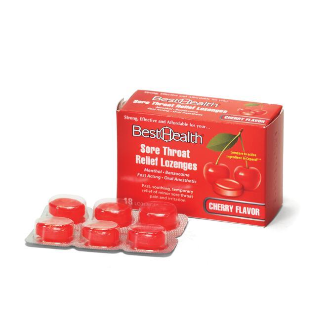 Sore Throat Lozenges (18/Box)