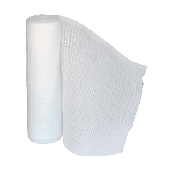 roller gauze bandage 4 x 4 1 2 yds green guard