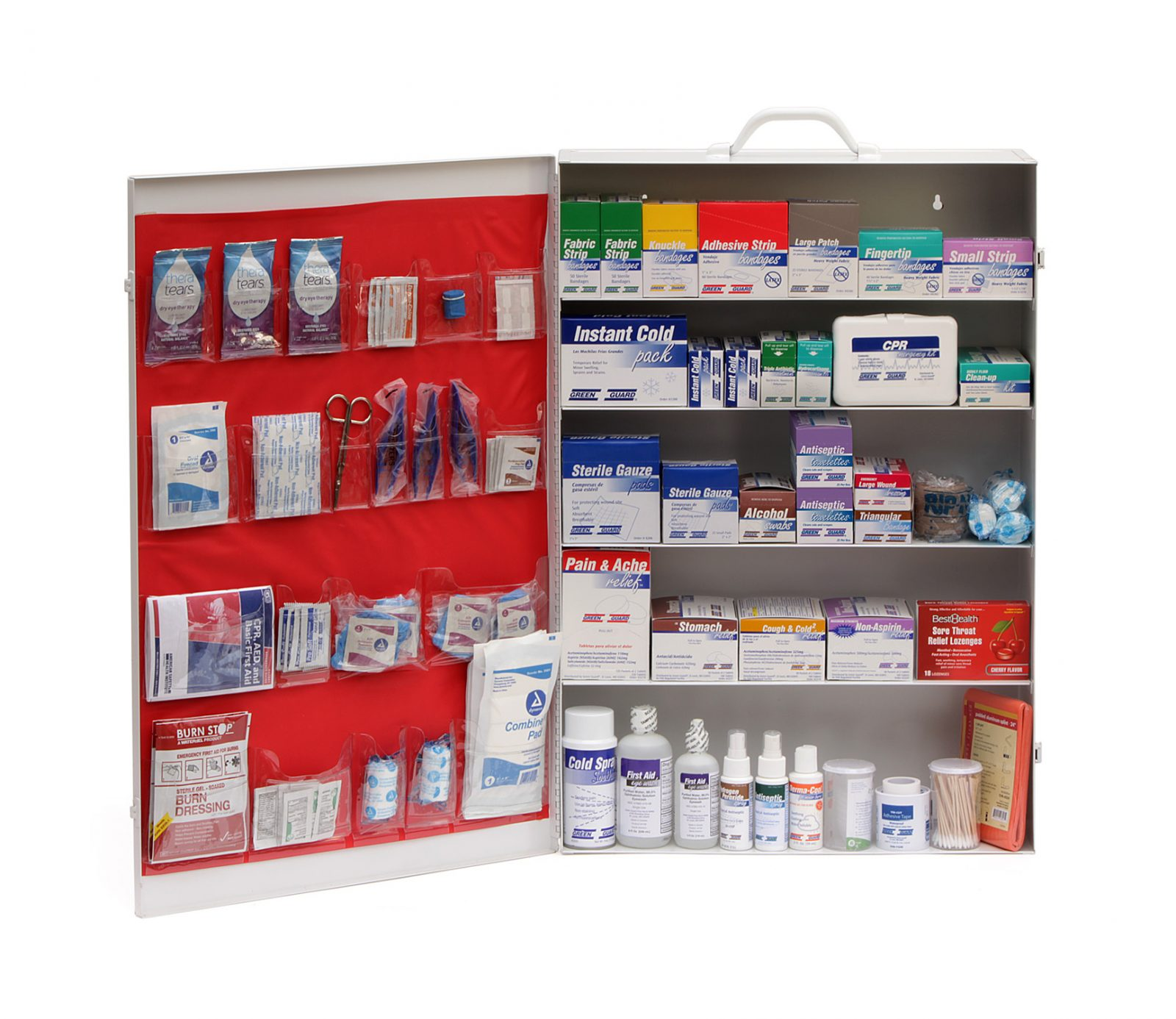 Green Guard First Aid Cabinet